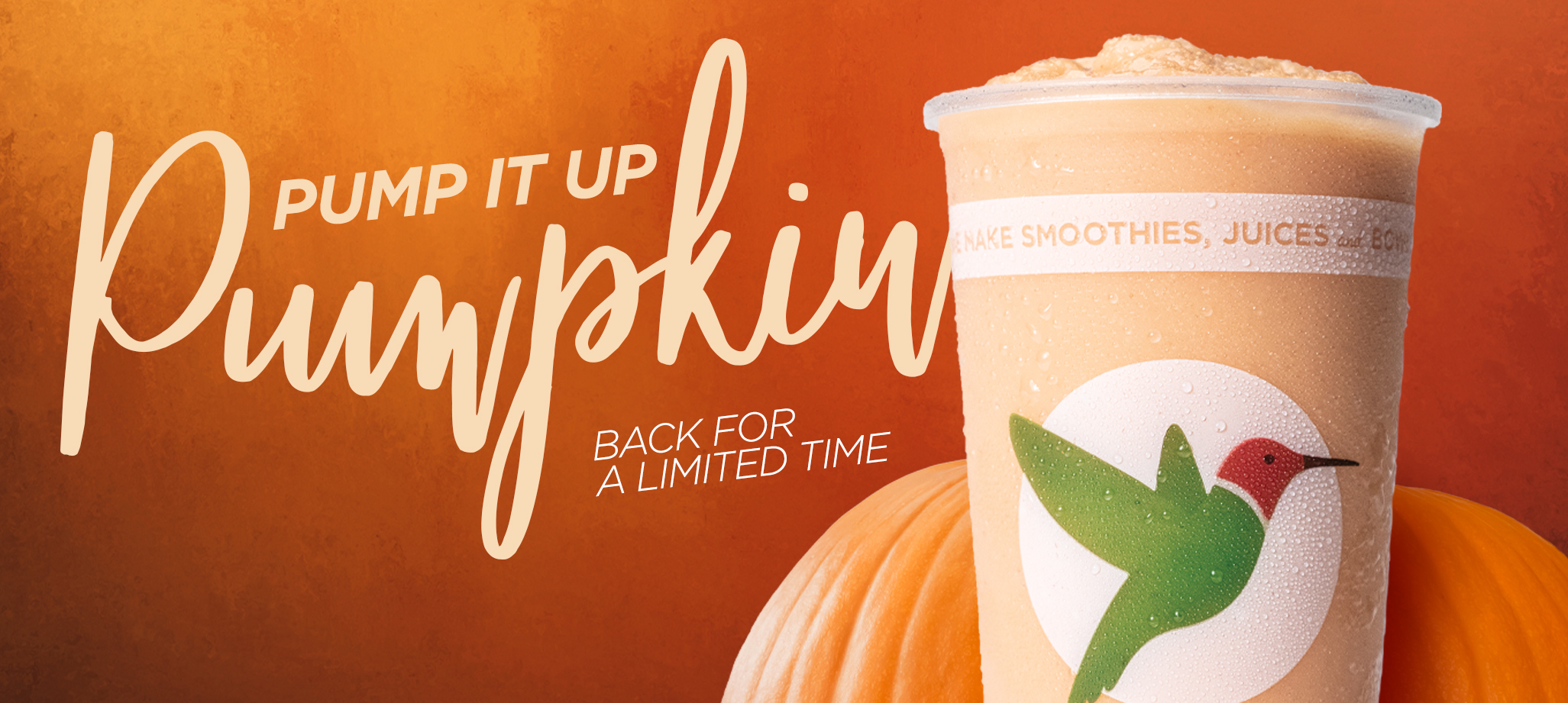 Pump It Up Pumpkin Smoothie