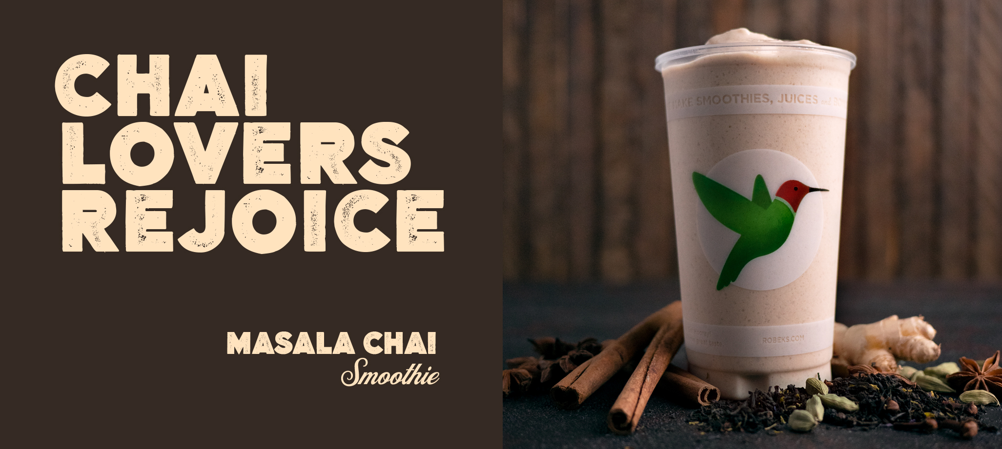 The Masala Chai Smoothie