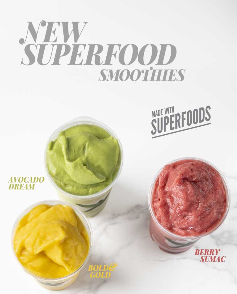 New Superfood Smoothies